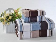 经典色织方巾毛巾浴巾(HY-24)