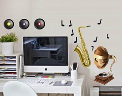 Musical Instrument Wallstickers