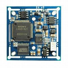 Original Sony CCD Sensor 3142+633 Color Board PCB Board CCTV Camera Parts