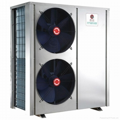 Air source evi heat pump 10kw for hot water and heating in cold area