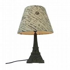 Polyresin Eiffel Tower Lamp