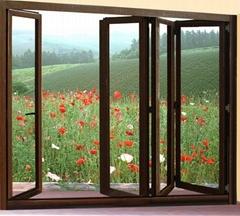 佐治亚85铝合金折叠窗