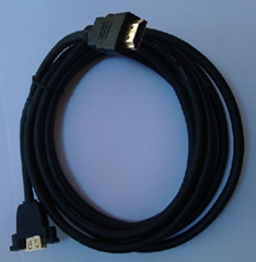 Wired-up HDMI to HDMI Gold Plated Connectors 1.8m Cable v1.3A
