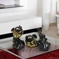 陶瓷镂空鲤鱼造型摆件 4