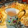 欧式高温陶瓷浅黄色花瓶摆件 4