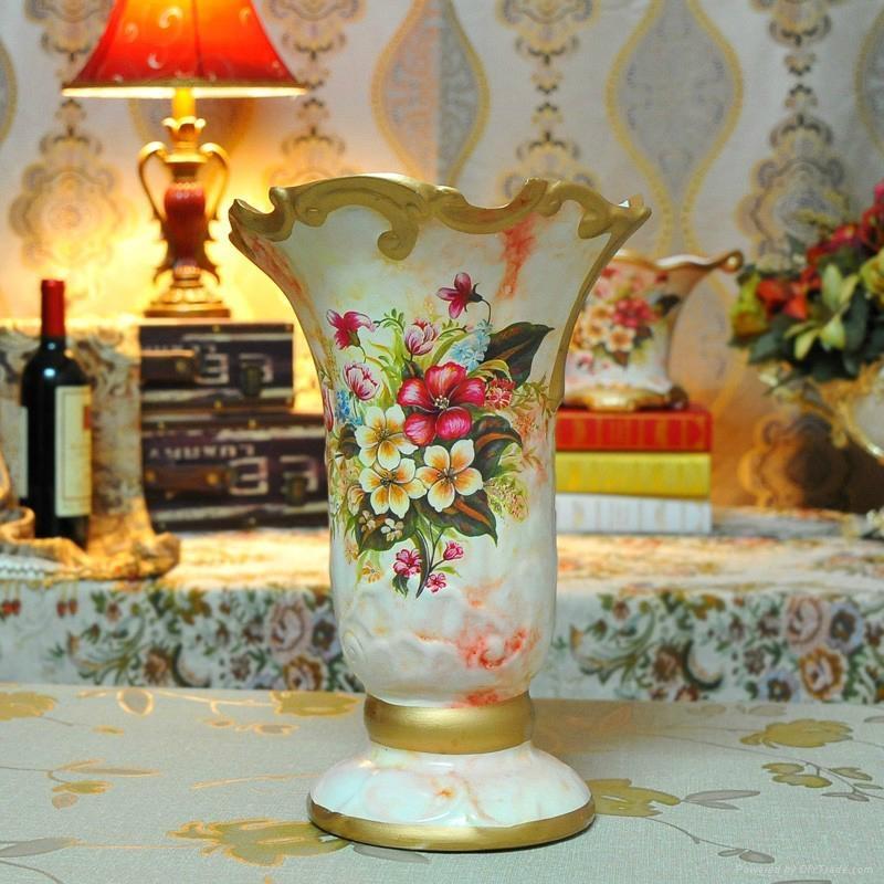 歐式風格花瓶擺件 1