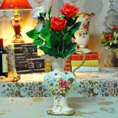 抽象高溫陶瓷花瓶裝飾擺件