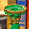 高溫陶瓷歐式宮廷古典燭台擺件 3