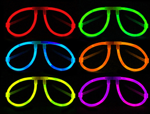 wholesale glow party glasses for Halloween glow decoration 2