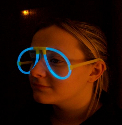 wholesale glow party glasses for Halloween glow decoration 4