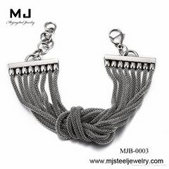 Stainless Steel Weave Bracelets (MJB-0892)