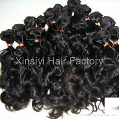 Top Quality 100human hair waving Brazilian&Indian Hair