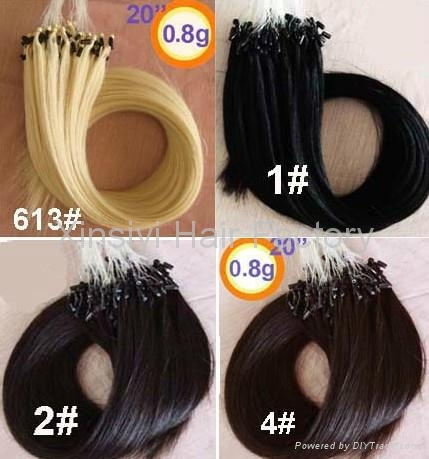 """2013New&Hot Hair Products Micro Ring Hair Extensions 16"""" 5"""