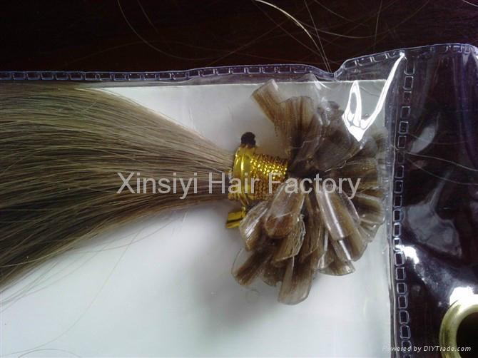 Nail Hair Extensions 100Human hair&Brazilian Remy Hair 4
