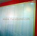 PVDF/PE Cladding Wall ACP Aluminum Composite Panel Buailding material 1