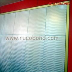 PVDF/PE Cladding Wall ACP Aluminum Composite Panel Buailding material