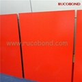 PVDF/PE Cladding Wall ACP Aluminum Composite Panel Buailding material 3
