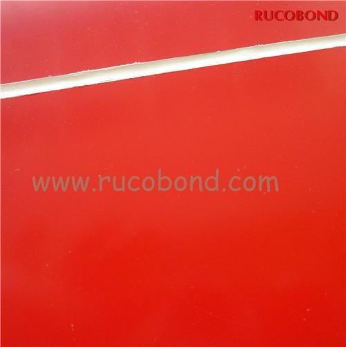 PVDF/PE Cladding Wall ACP Aluminum Composite Panel Buailding material 4