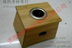 單孔竹盒 竹制單孔孔艾灸盒溫灸儀