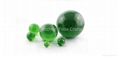 colored acrylic ball solid