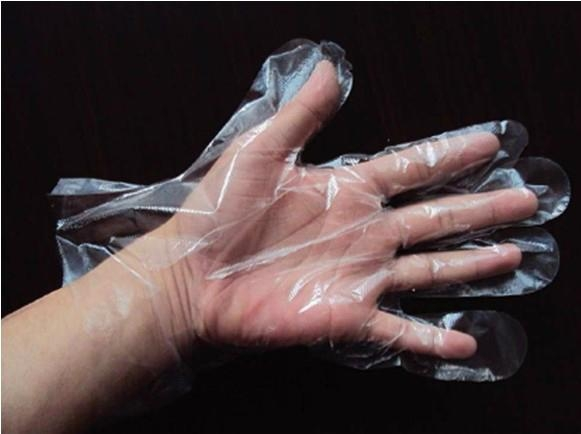 DISPOSABLE HDPE&LDPE GLOVES  2