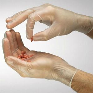 Disposable Vinyl gloves 2