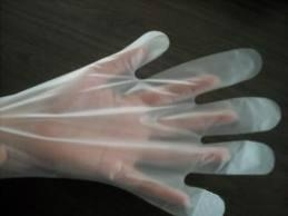 Disposable Thermo Plastic Elastomer (TPE) gloves 2