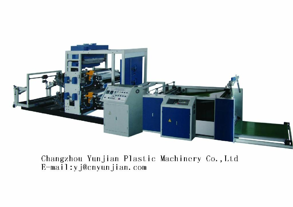 Flexo 4 color and 6 color printing machine 1