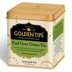 Golden Tips Earl Grey Green Full Leaf Tea