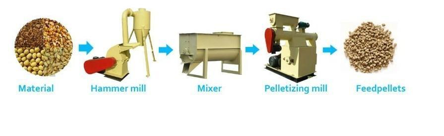 Ring die Wood Biomass Pellet Machine 1