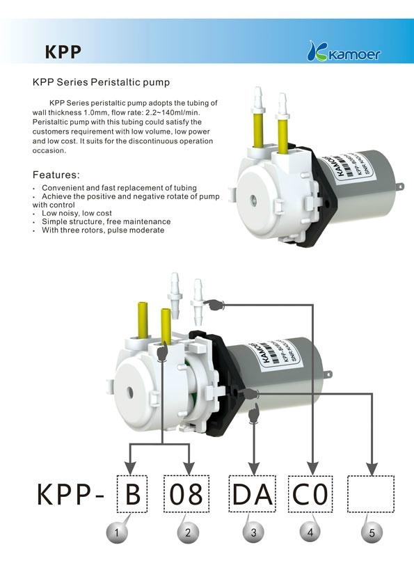 Kamoer 6V Mini Peristaltic Pump 2