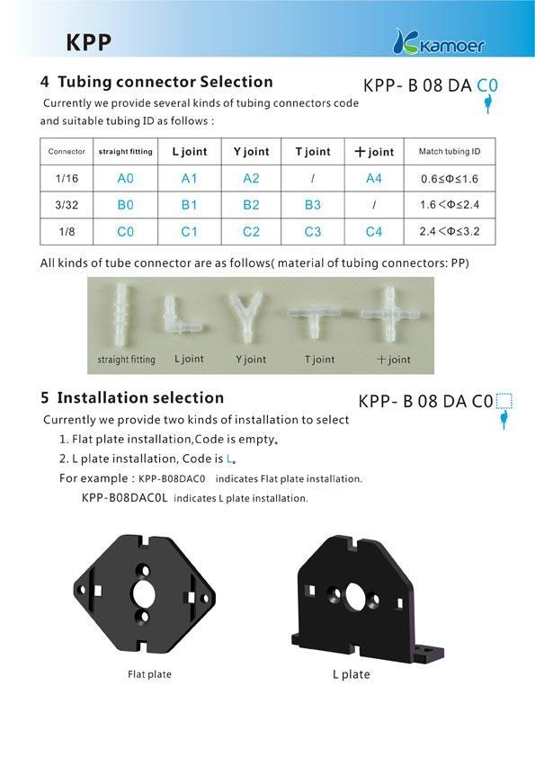 Kamoer 6V Mini Peristaltic Pump 3