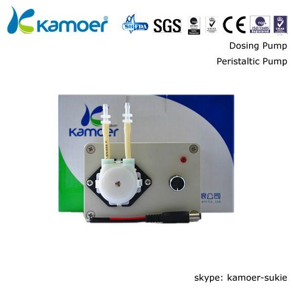 Kamoer 6V Adjustable Flow Rate Peristaltic Pump 1