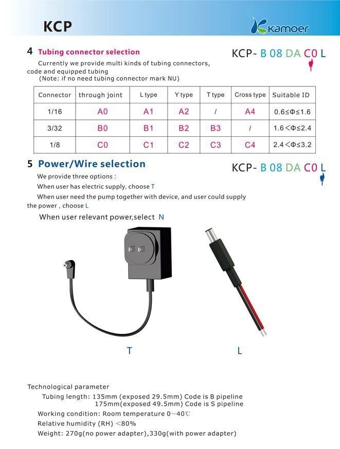 Kamoer 12V Adjustable Flow Rate Peristaltic Pump 4