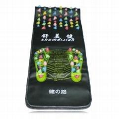 Healthy Acupoint Stimulated Foot Massage Mat Pebble Stone Floor Mat