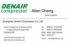 22KW Screw Air Compressor DA-22A