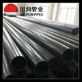 High wear resistant UHMW PE irrigation pipe  2