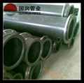 UHMW-PE pipe with very high wear &