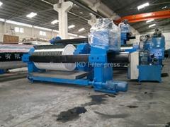 filter press industrial sewage filter