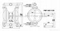 pneumatic diaphragm pump  3