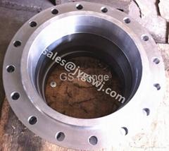 ANSI B16.5 A105 Galvanize weld neck flange