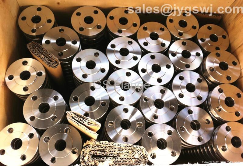 A182 F51 duplex steel slip on pipe flange 1