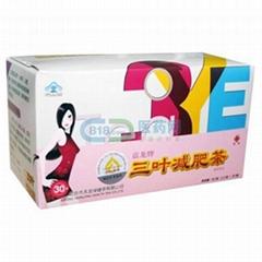 嘉龍牌三葉減肥茶60克(2.0克*30袋 新包裝)