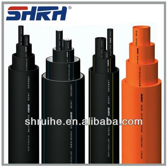High density polyethylene pipe factory 1