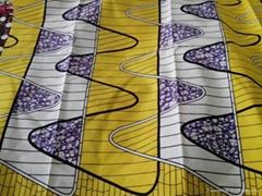 Good Quality 100% Cotton Flower Reactive Printed Fabric London Wax
