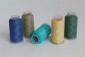Dull,Semi-dull Viscose/rayon embroidery