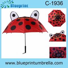 special cartoon kids umbrella