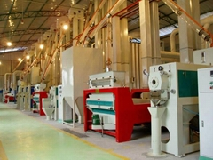 complete rice mill 100TPD