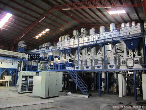 rice mill milling machine 70TPD 1