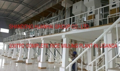 rice mill 200TPD complete
